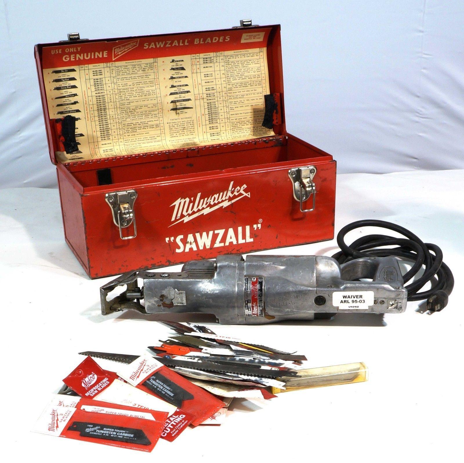 Free Furniture In Milwaukee: Vintage Milwaukee 6510 Sawzall Grounded Power- Tool Heavy
