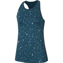 Photo of Nike women's shirt Np Starry Night Mtlc, size M In Midnight Turq / black / black, size M In Midnight Tur