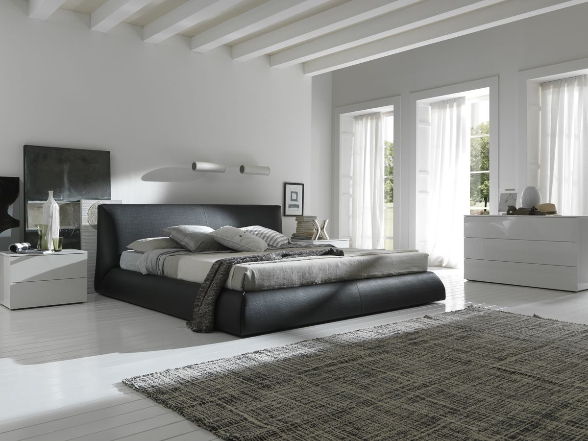 Modern and eco-friendly beds made of eco-leather