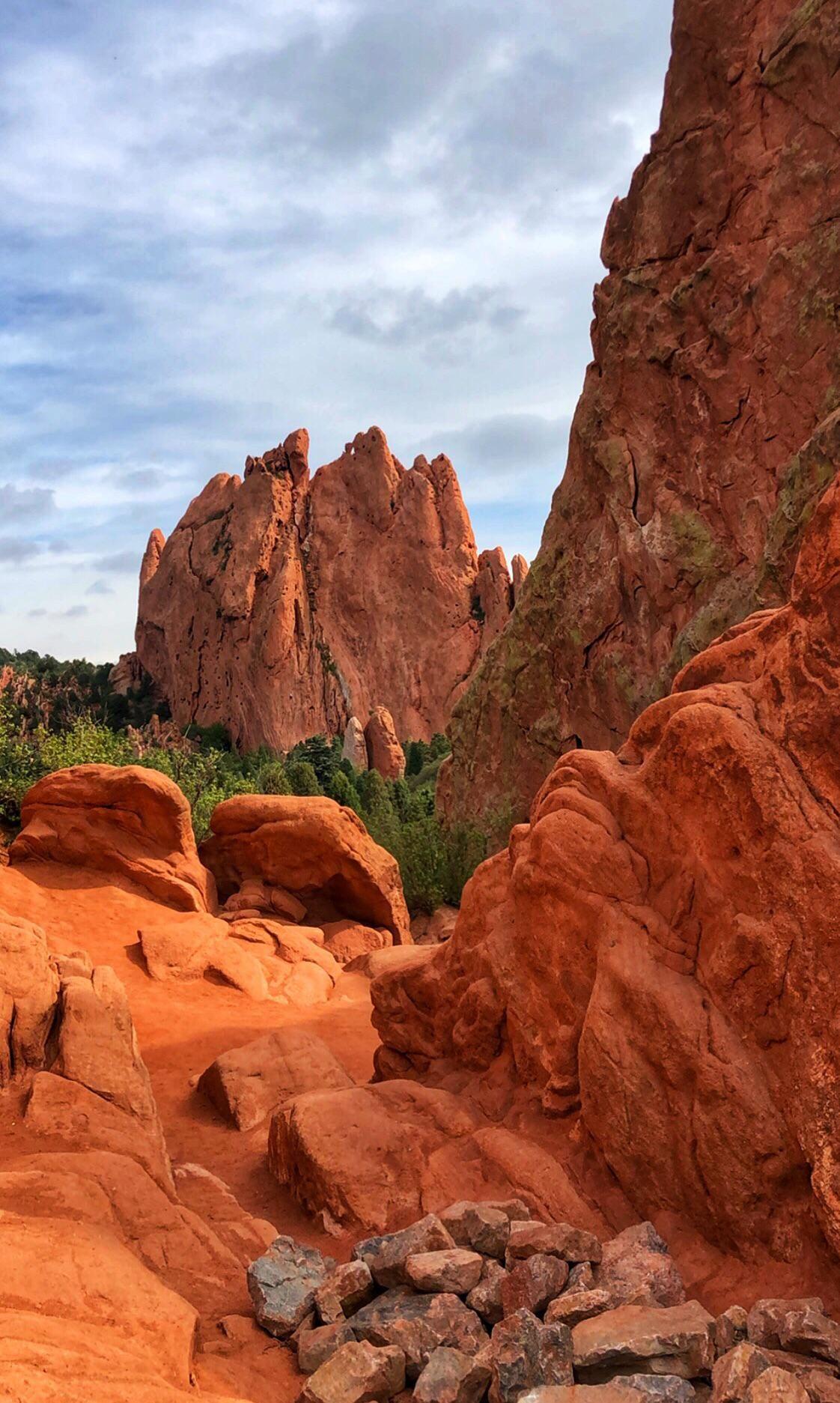 Garden of the Gods in Colorado Springs Colorado USA