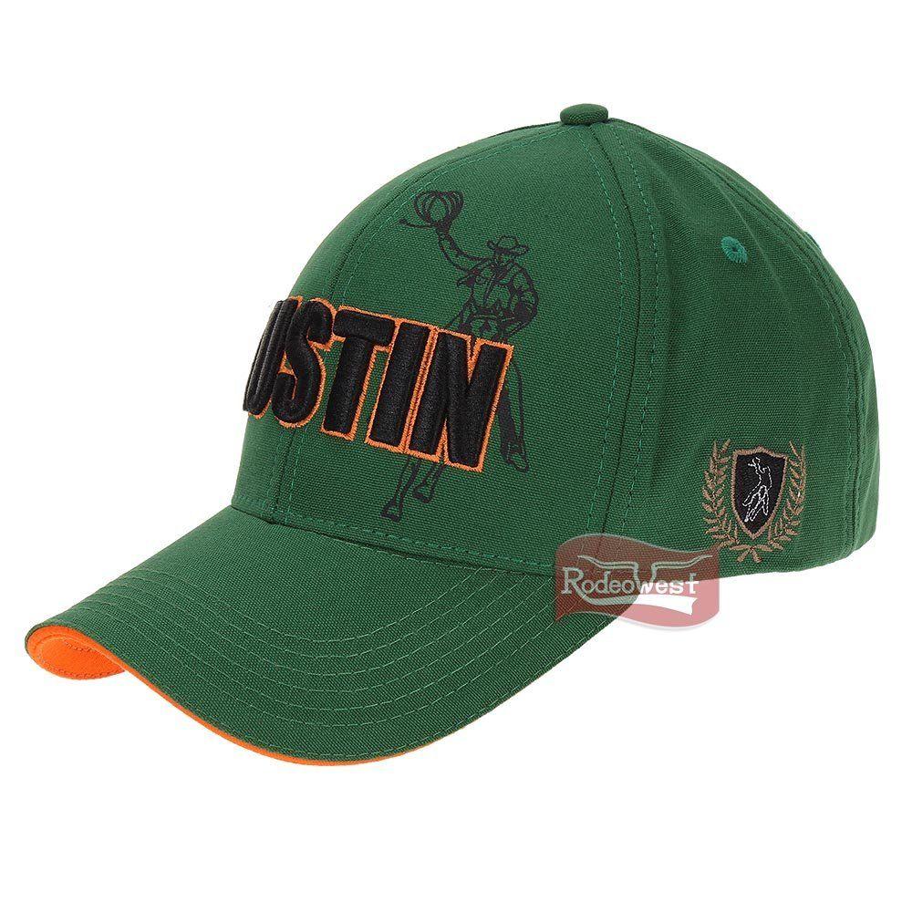 Boné Austin Western Verde 100% Algodão c  Fivela p  Regulagem ... 21210afa005