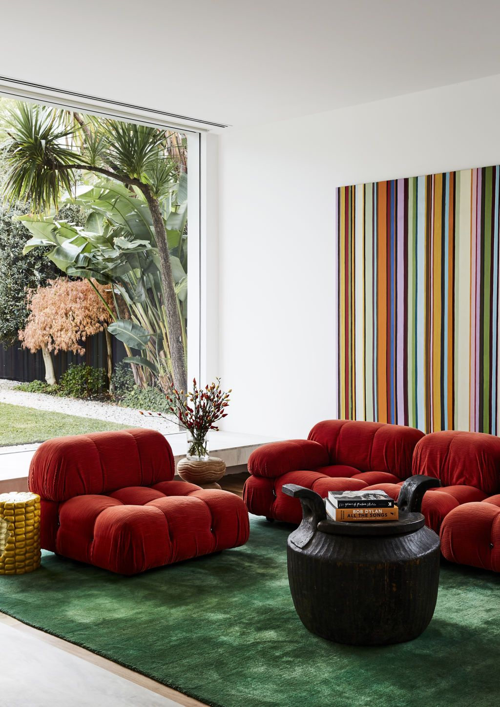 51 Red Living Rooms With Tips And Accessories To Help You Decorate Yours In 2020 Living Room Red Colorful Furniture Living Room Red Furniture Living Room #red #living #room #accessories