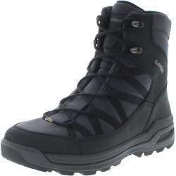 Photo of Lowa 410954-0999 Montreal Gtx Mid Black Mens Hiking Boots – Black Lowa
