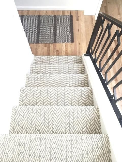 Find This Pin And More On Stairs Jute Herringbone Stair Runner Herringbone  Pattern Stair Runner Herringbone Stair Runner Uk