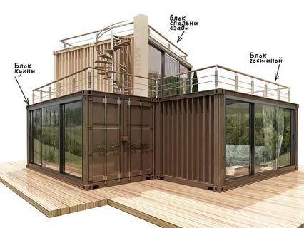 дом из контейнера фото и проекты цены: 6 тыс изображений ...