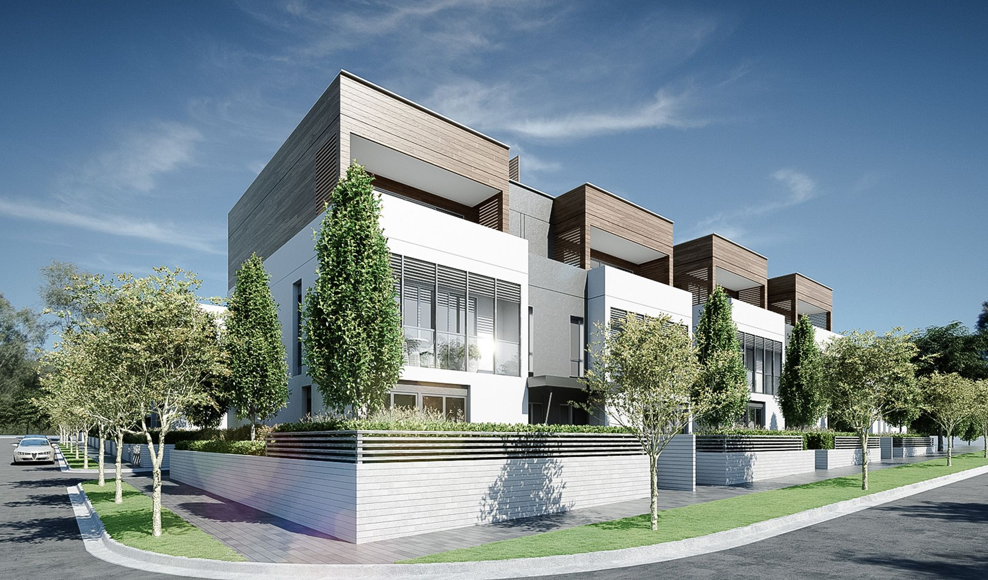 Conrad architects mornington 03 townhouse pinterest for Contemporary residential architects