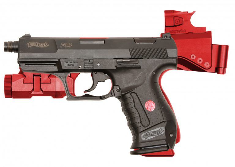 The B&T USW - Universal Service Weapon and Aimpoint Nano in
