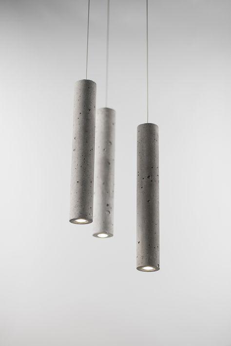Clever Concrete Lights With Images Concrete Light Concrete