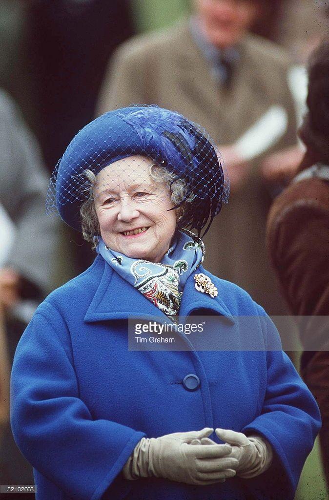 Queen Mother At Cheltenham Races. Queen mother, Queen