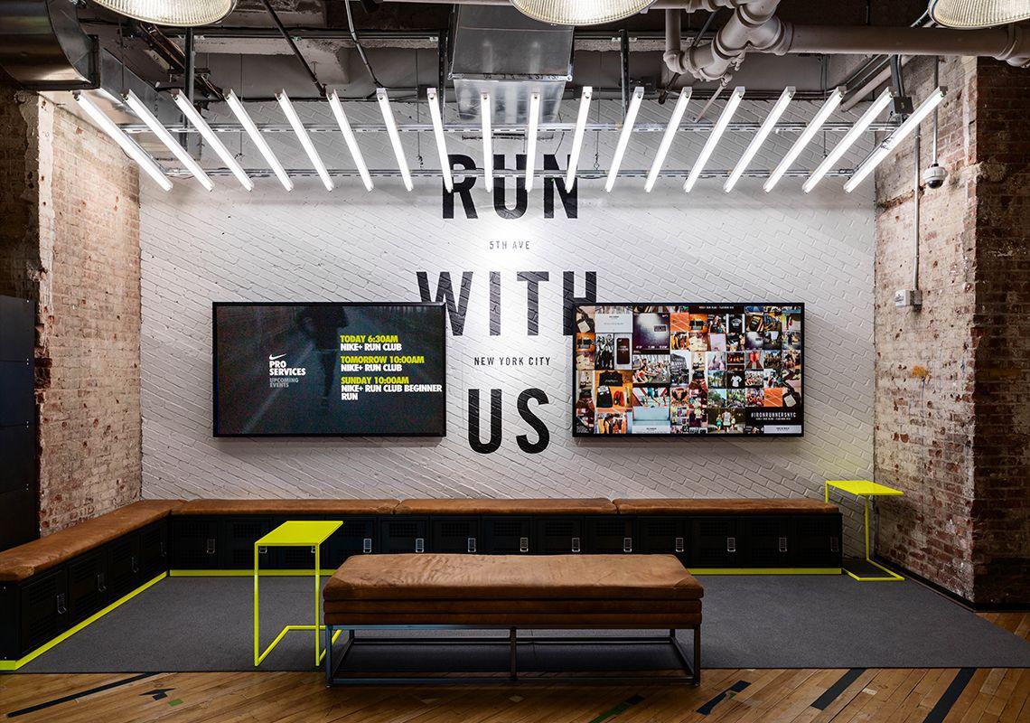 Art Direction Environment Design - Flatiron Nike Running Store update  Creative Director: Julie Igarashi Designers: Derrick Lee Esther Chang - Tap  the pin if ...
