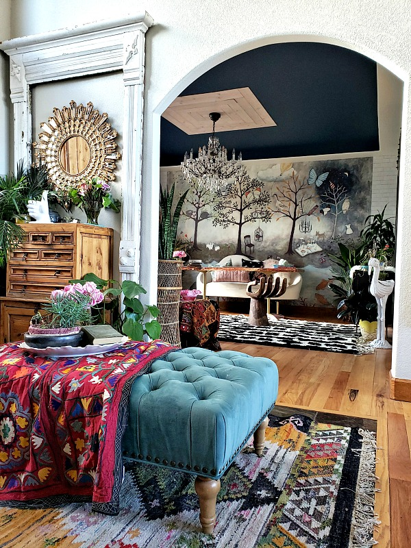 Eclectic Bedroom Whimsical