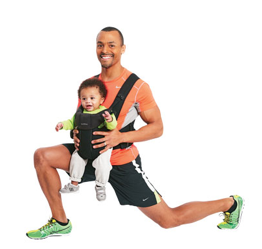 Getting fit with your baby: 5- Exercise Circuit Workout