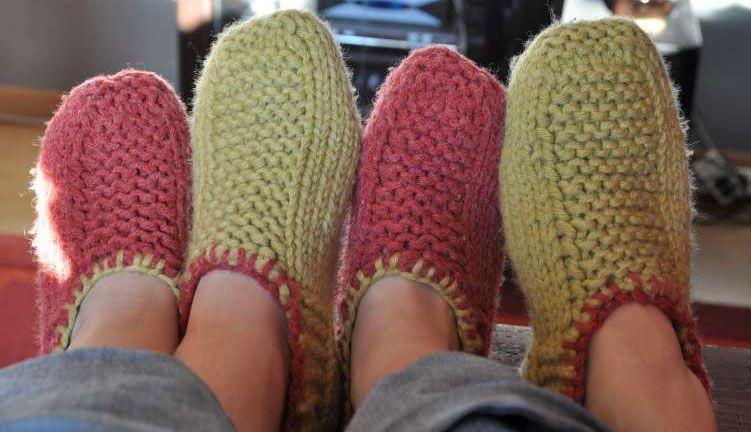 de53b75e8d6d7 comment tricoter des chaussons pour femme Plus