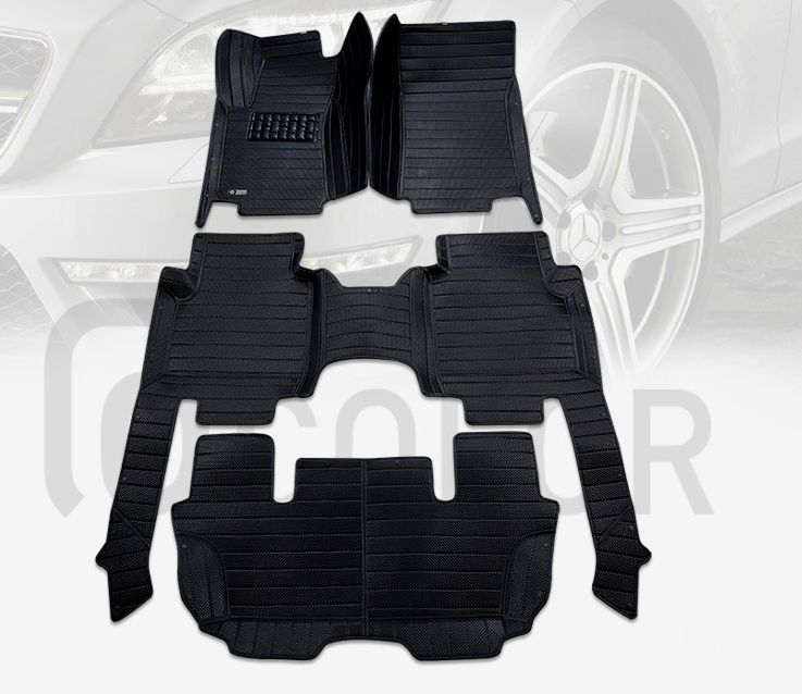 Good mats! Custom special floor mats for Nissan Patrol Y62 ...