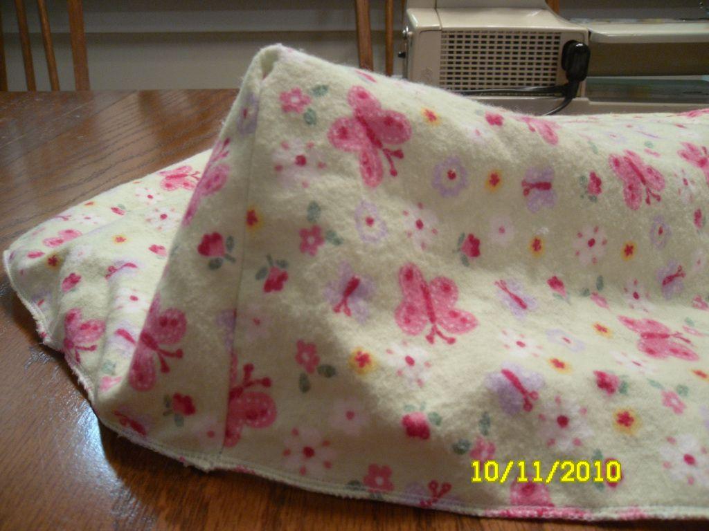 DIY Baby Sheet and Mattress Makeover Sewing