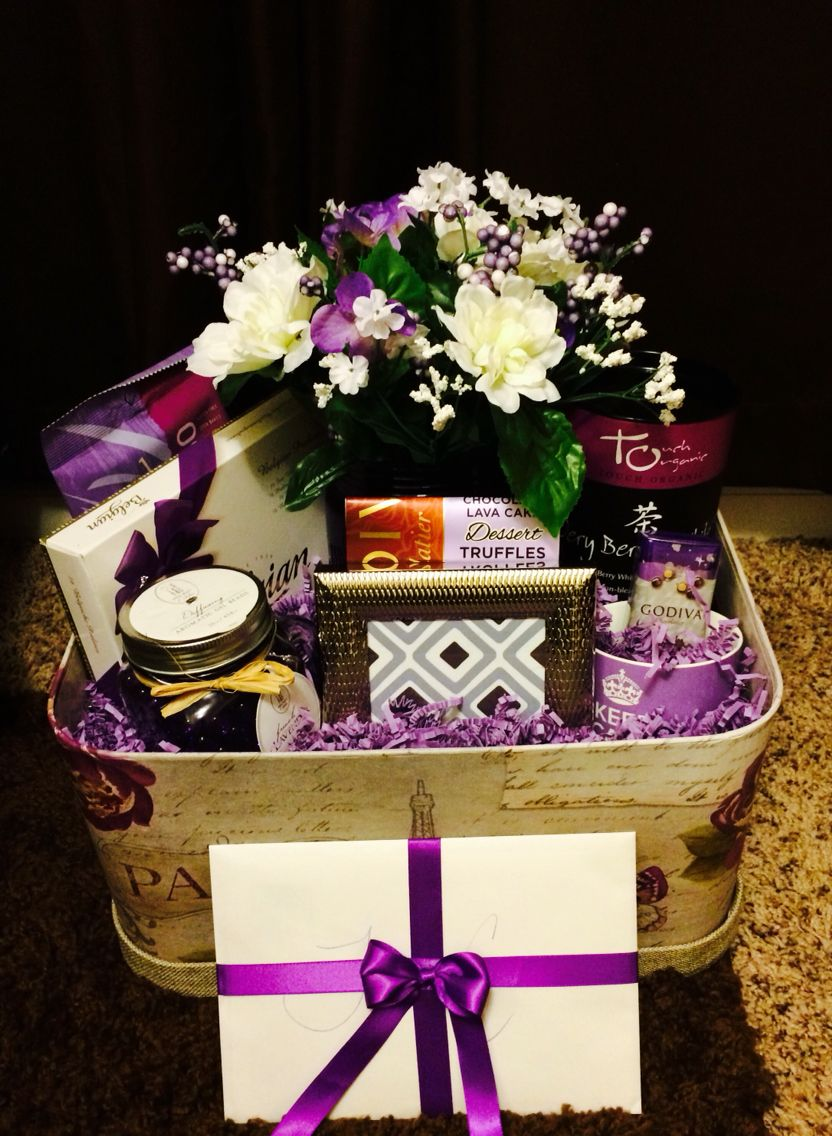 Sympathy gift basket for families sympathygift sympathybasket lavender is always a good ingredient to mix into a sympathy basket because it brings tranquility and peace diy solutioingenieria Gallery