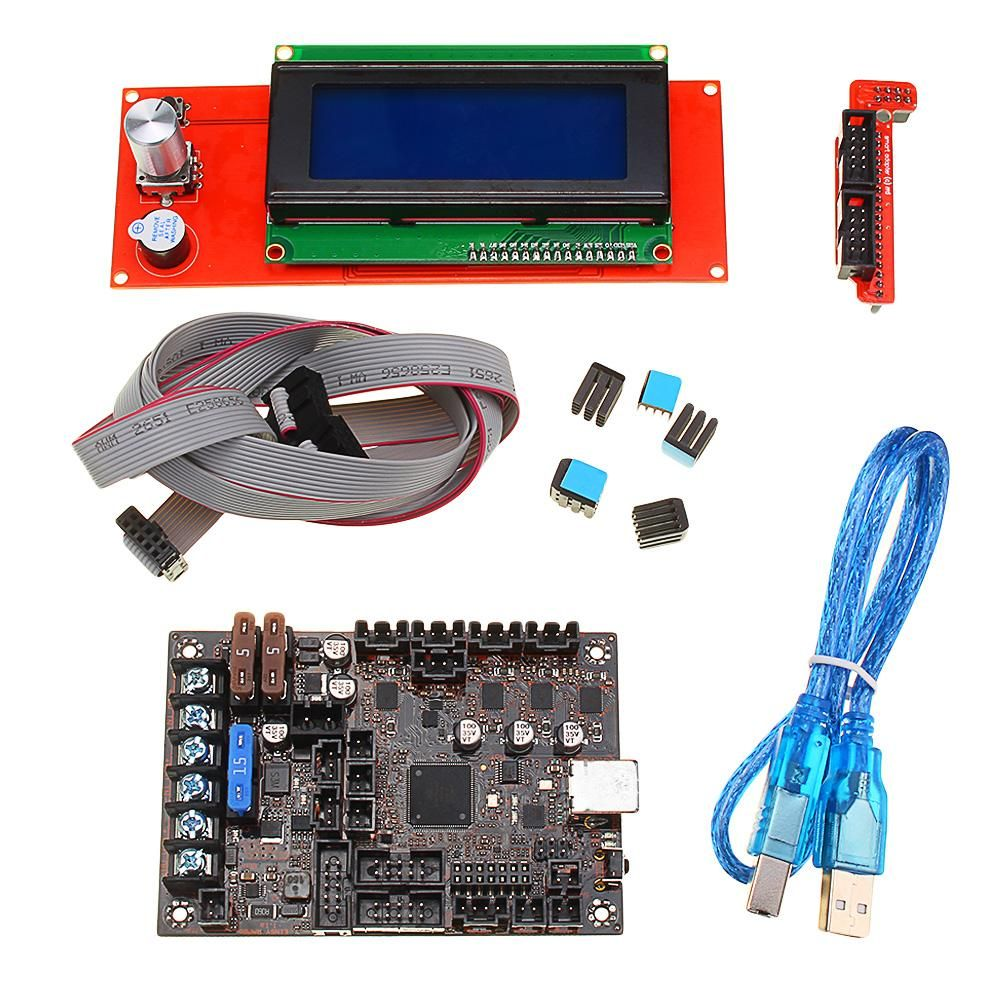 Einsy Rambo 1 1a Mainboard + 2004 LCD Display For Prusa i3