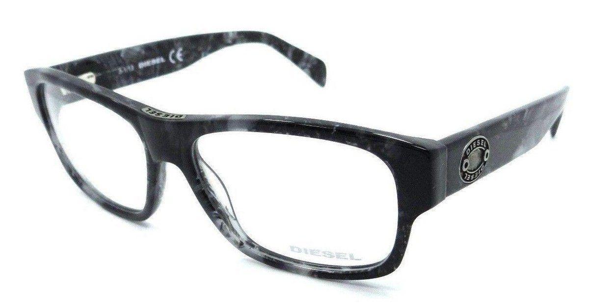 8a8c06913ba69 New Authentic Diesel Rx Eyeglasses Frames DL5064 005 56-15-145 Grey Havana