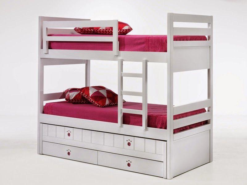Literas de tres camas articulos de nuestro blog de mueble juvenil dormitorios juveniles y - Literas para habitaciones pequenas ...