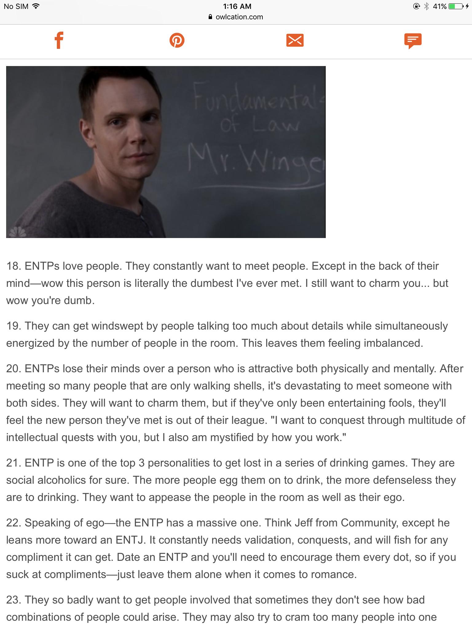 Pin by Thomas Maher on ENTP/ENTJ/MBTI | Entp, Entj, MBTI
