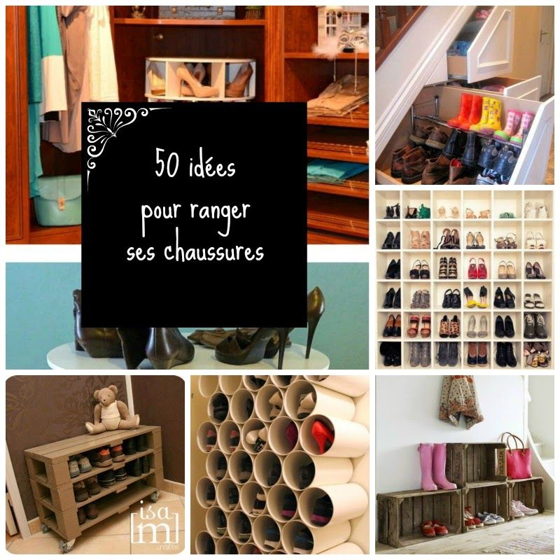 home garden 50 id es pour ranger ses chaussures organisation pinterest ranger. Black Bedroom Furniture Sets. Home Design Ideas