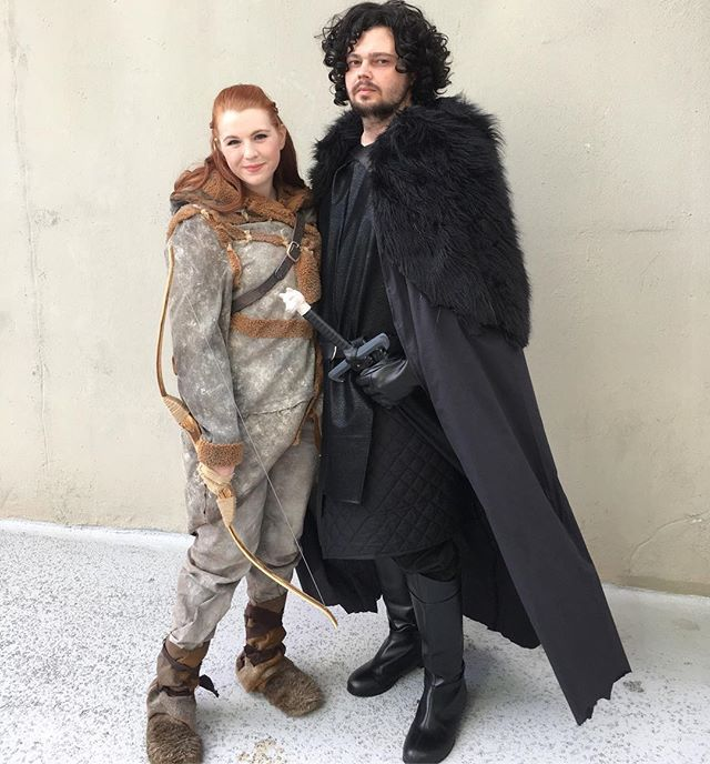 21 sweet game of thrones costume ideas for couples deguisement diy d guisements et diy. Black Bedroom Furniture Sets. Home Design Ideas