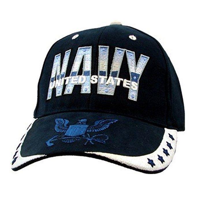 "USN /""We Own the Seas/"" Baseball Cap U.S Navy Insignia Hat"