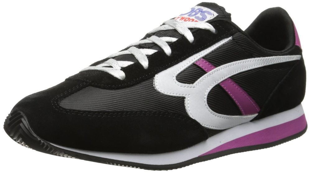 BOBS from Skechers Women's Sunset Fashion Sneaker Retro 80s shoes Memory Foam