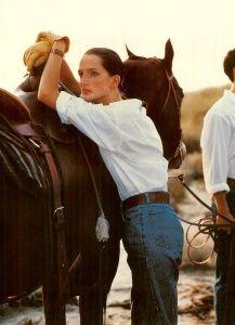 Polo Ralph Lauren Spring/Summer 1988 Photo Bruce Weber Models Tim Easton, Rob Simonson, Thomas Moore, Saffron Adlridge, Isabelle Townsend & Alba Clemente #ralphlaurenwomensclothing