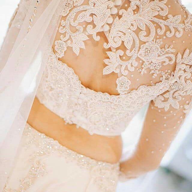 "Photo of Purnima Abeyratne Inspirations on Instagram: ""Details #bridesbypurnima #inspirationsbrides #srilankanbride #weddingsinsrilanka #madeupsaree #saree #destinationsrilanka #weddingday…"""