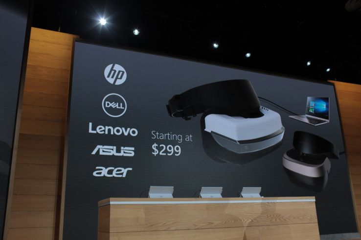 HP, Dell, Lenovo, Asus and Acer will all ship VR headsets for your