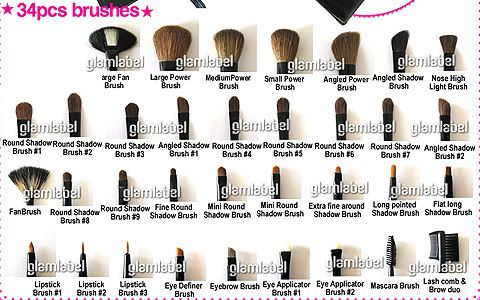 Mac Makeup Brushes And Their Uses Makeupview Co