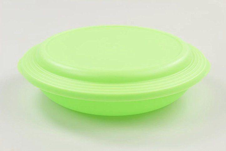 Tupperware Junge Welle Teller 700 Ml Neon Grun Swingtime Mit Deckel
