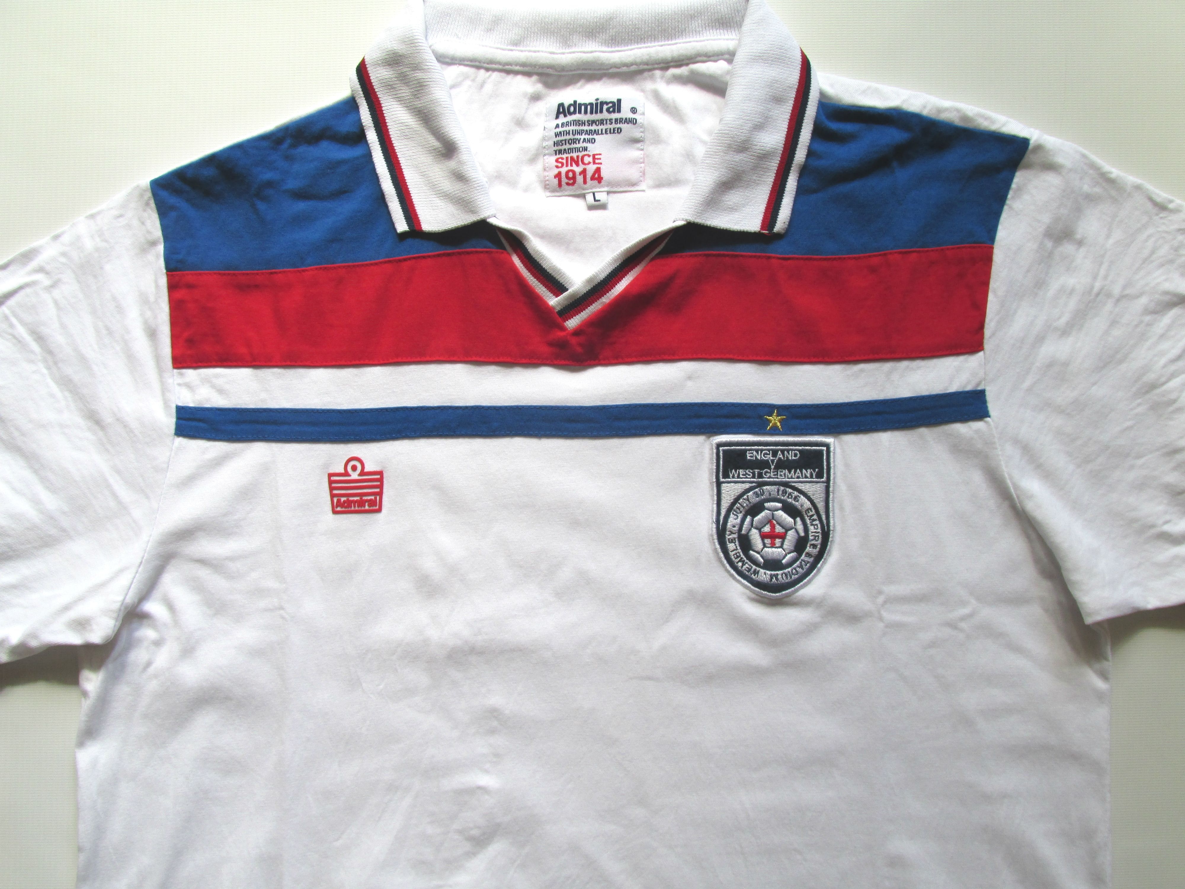 England Vs West Germany 1966 World Cup Football Shirt By Admiral Jersey Soccer Vintage Retro Worldcup Worldcup66 60s Vin Shirts 1966 World Cup Football Shirts