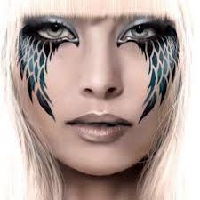 Halloween Schminktipps Schwarzer Engel.Bildergebnis Fur Face Painting Bird Angel Halloween Makeup Angel Makeup Fantasy Makeup