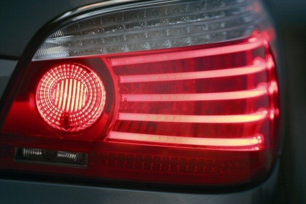 04 07 Bmw E60 5 Series Fiber Optic Lci Led Tail Lights Led Tail