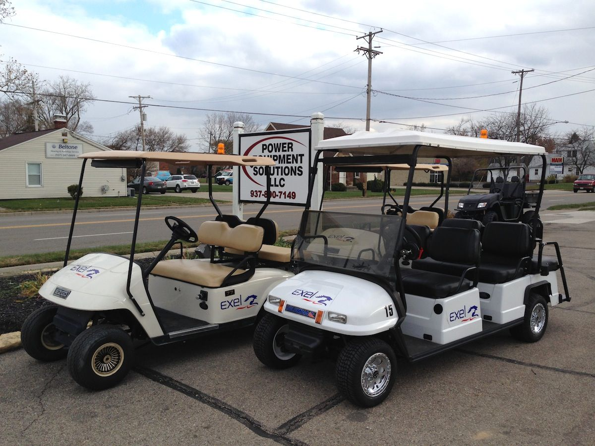 Here are a few of the fleet cars that we just equipped and sold to Golf Cart Custom Flame Paint Html on