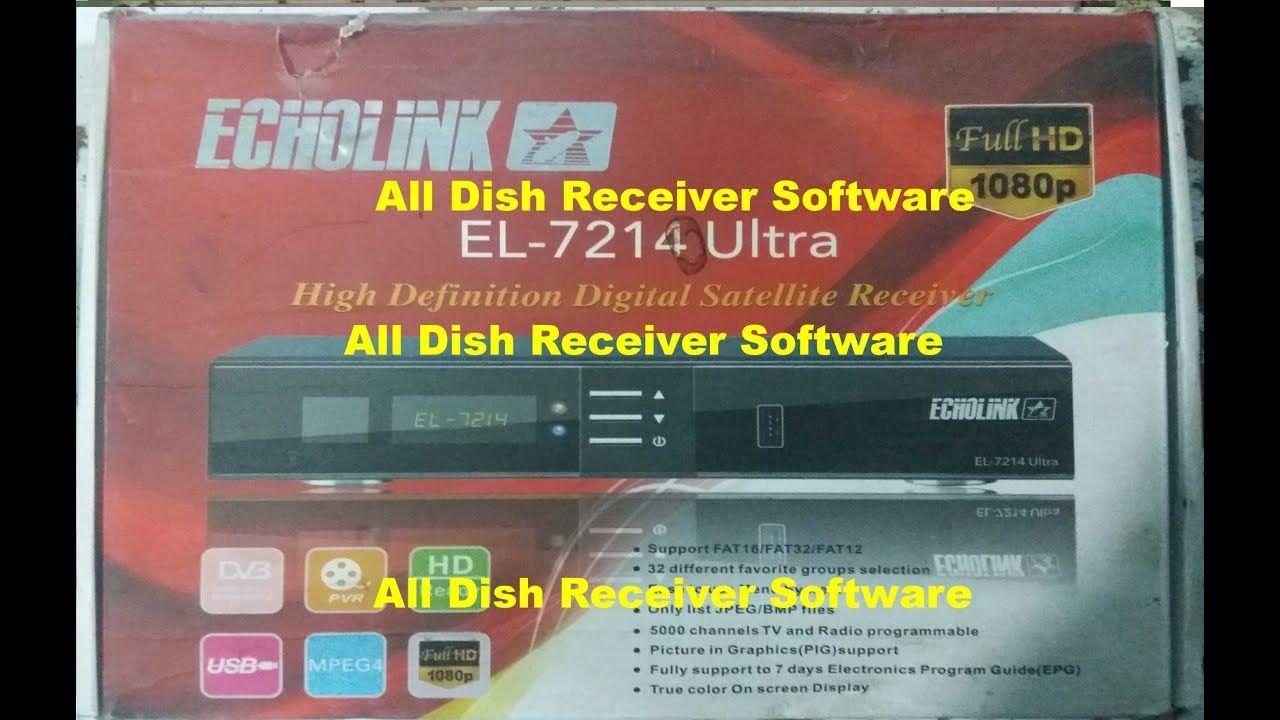 ECHOLINK EL 7214 ULTRA HD RECEIVER AUTO ROLL BISS KEY NEW