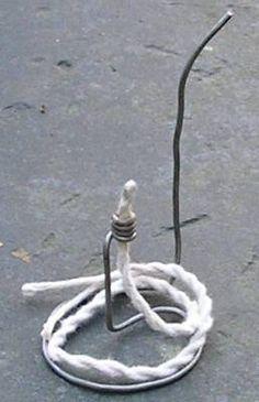 instructions for olive/vegetable oil lamp wick holder ...