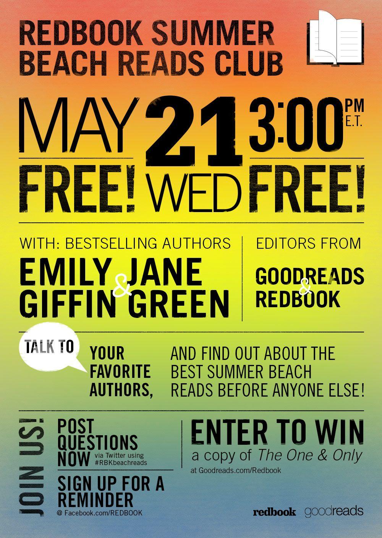 Announcing the REDBOOK Summer Beach Reads Club