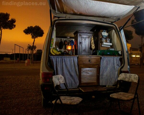 the interior kitchen of our vw t4 camper van all diy. Black Bedroom Furniture Sets. Home Design Ideas