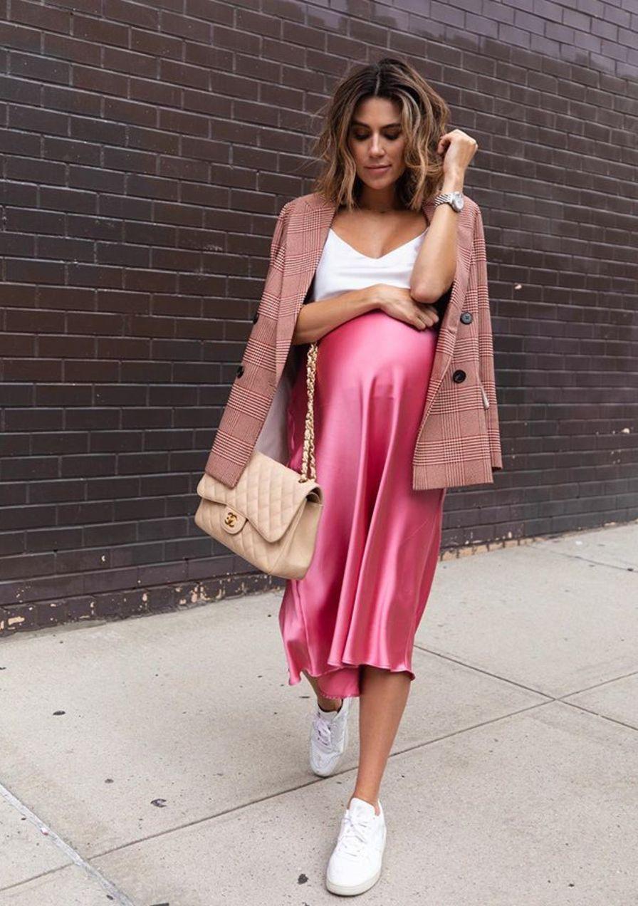 Diese Schwangerschafts-Looks schauen wir uns von den Influencern ab