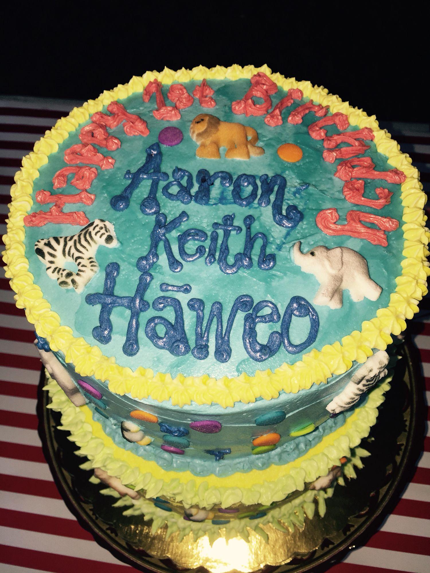 Lilikoi Birthday Cake