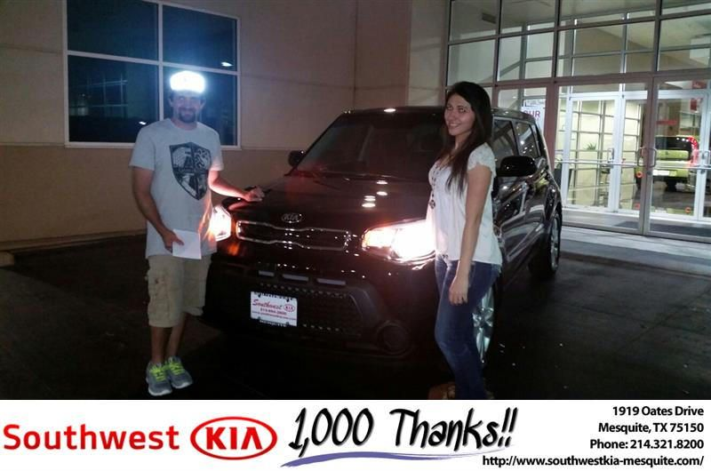 https://flic.kr/p/LB7qJq | #HappyAnniversary to Nina and your 2015 #Kia #Soul…