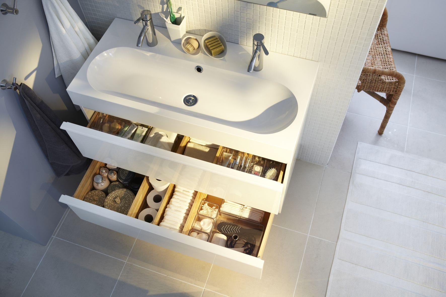 Ikea Badkamer Ikea : Godmorgon wastafelkast ikea badkamer opberger make a house