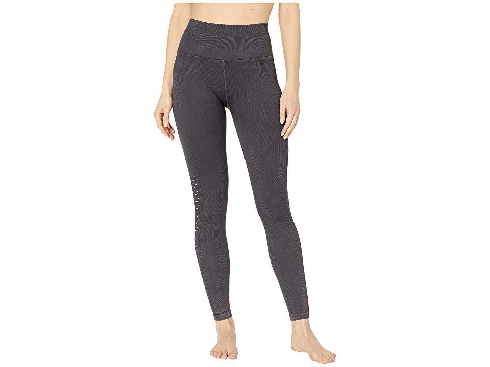 Spiritual Gangster Women/'s Dark Gray Stitched Rasta Heart Sweatpants Size Small