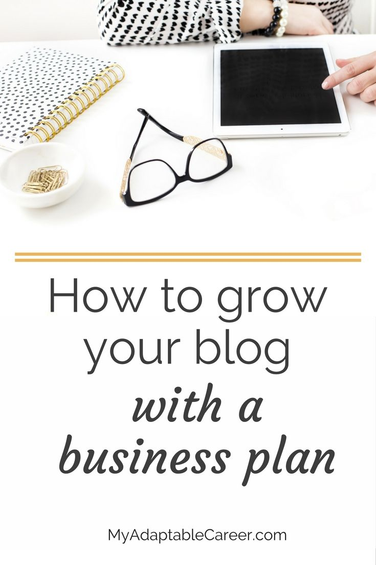 How To Grow Your Blog With A Business Plan  Business Planning