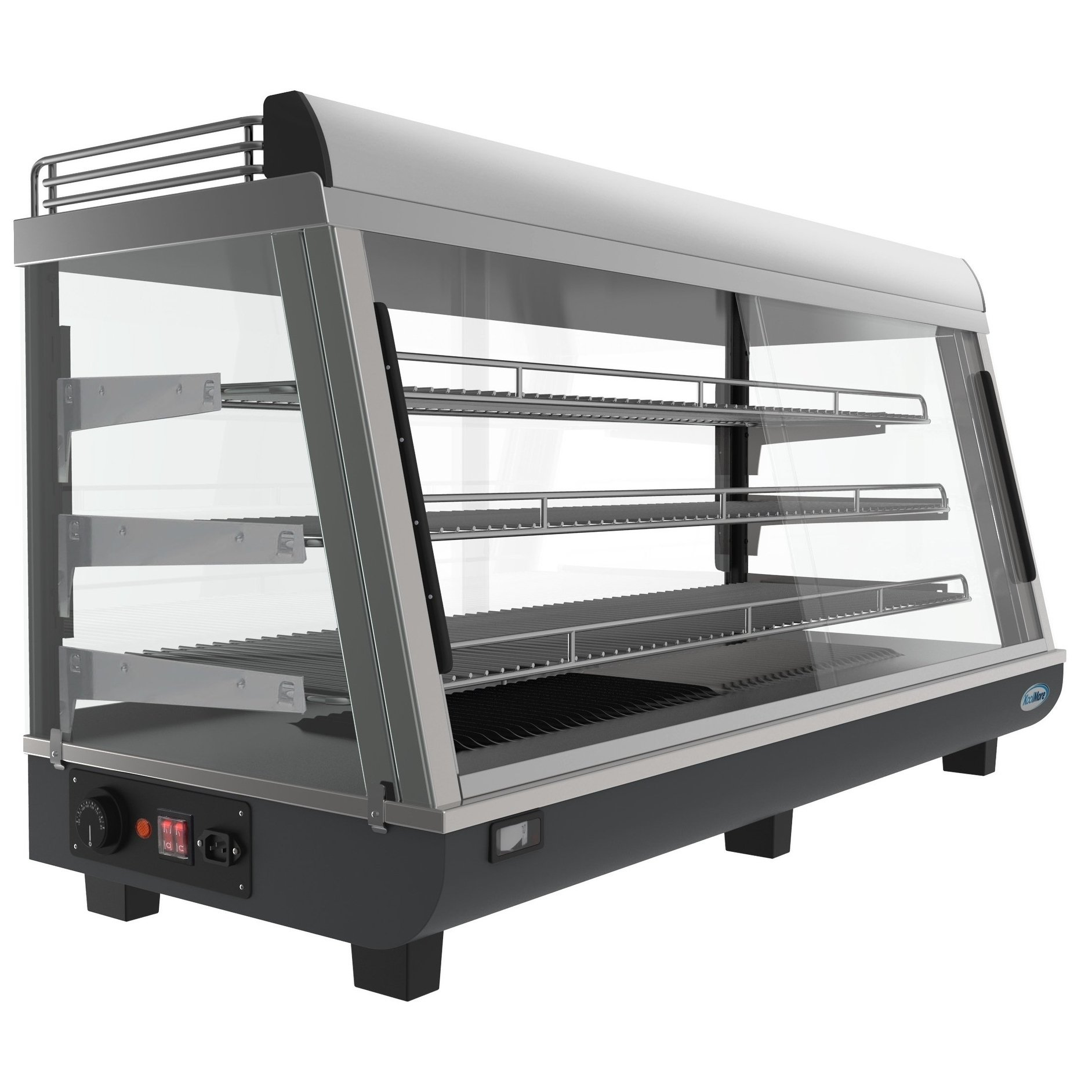 48 Inch Self Service Commercial Countertop Food Warmer Display