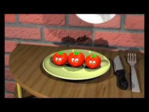 أنا البندورة الحمراء بدون إيقاع I Am Red Tomato Arabic Lessons The Originals