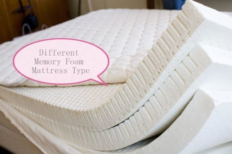 Diffe Types Of Memory Foam Mattresses